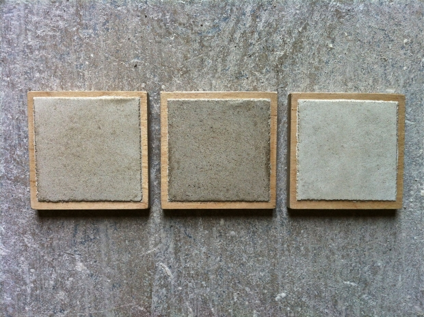 Clay Plaster Samples